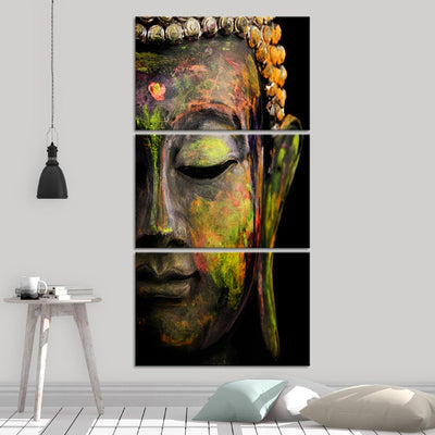 Lord Buddha Multi Panel Canvas Wall Art