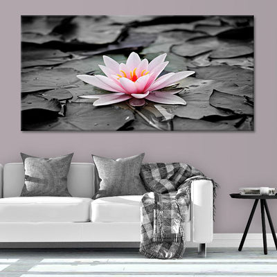 lotus blossom canvas wall art large