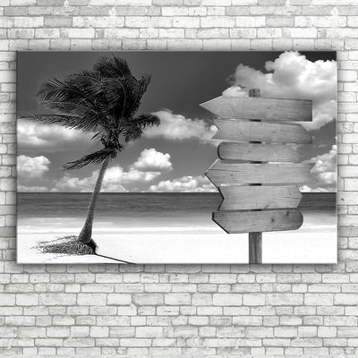 Ocean Breeze Personalized Wall Art With Names