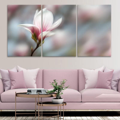 Peaceful Pink Flower canvas prints cheap