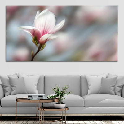 Peaceful Pink Flower wall canvas