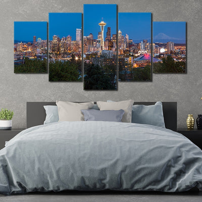 Seattle Skyline large wall art
