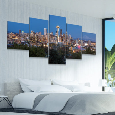 Seattle Skyline best canvas prints