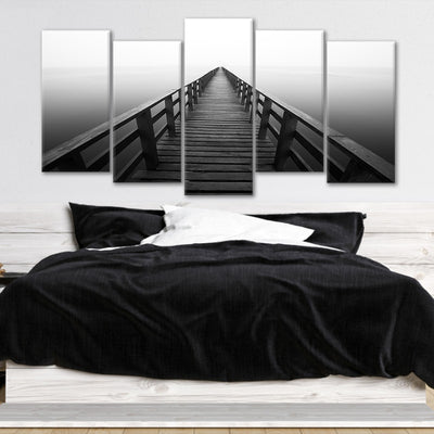 Serene Pier Multi Panel Canvas Wall Art
