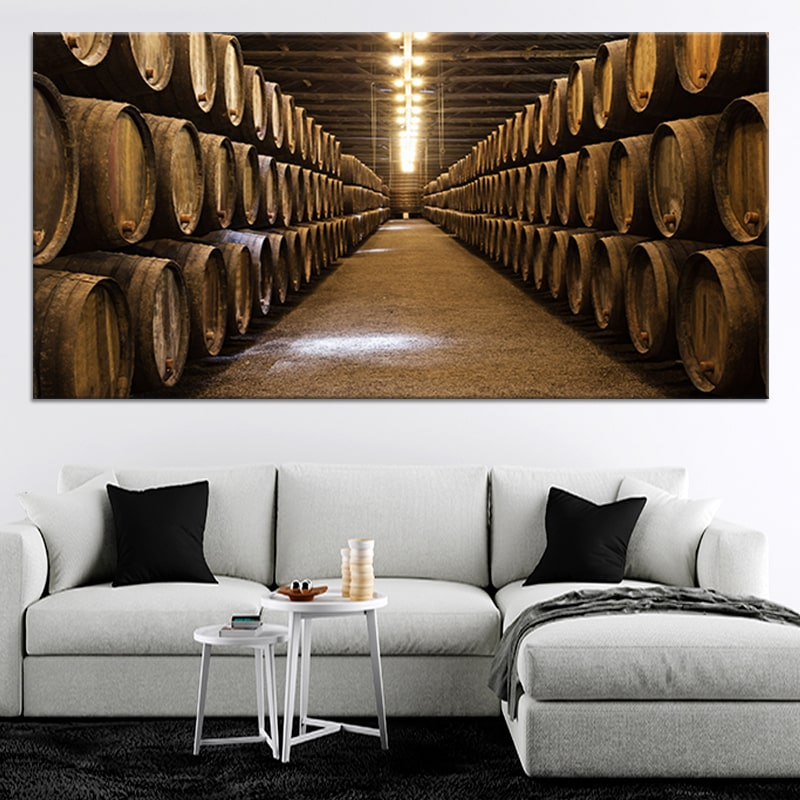 The Cellar Multi Panel Canvas Wall Art
