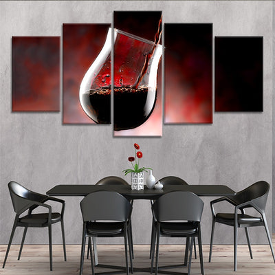canvas wall art large 5 piece canvas art