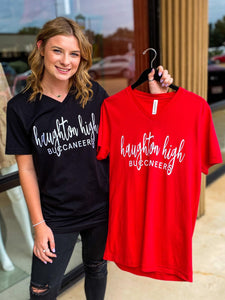 Haughton High Script Tee