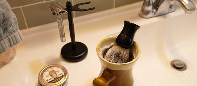 wet shave, reusable rasor, safety rasor, girls using safety rasors, shave brush, shave soap, tallow shave soap