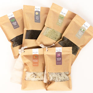 Herbal Bath Salts | Texas Tallow Herb-Infused Self-Care Spa Day Products | Organic, Artisan, Small-Batch, Handmade in Texas
