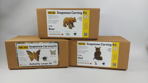 Large Soapstone Carving Kit