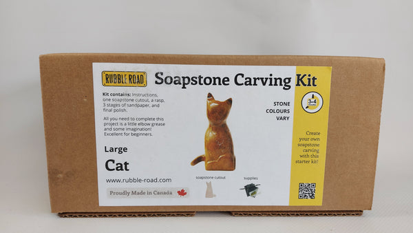 Soapstone Carving Kit, Large