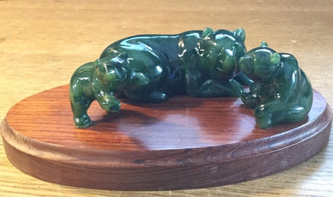Jade Bear Family