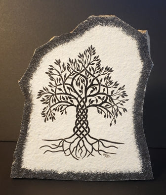 Stone Art Celtic Tree, Lg
