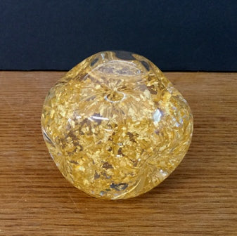 Snowdome with 23K Gold leaf, regular