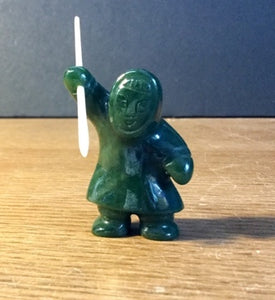 Jade Hunter with spear