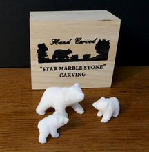 Load image into Gallery viewer, STAR MARBLE Bear Family
