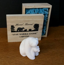 Load image into Gallery viewer, STAR MARBLE Bear with Cub, 3""