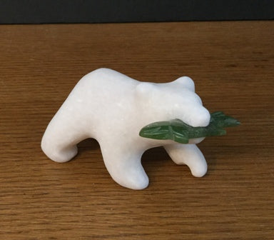 STAR MARBLE Bear with Fish, 3