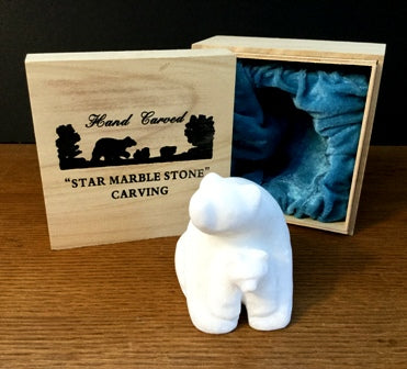 STAR MARBLE Bear with Cub, 4""
