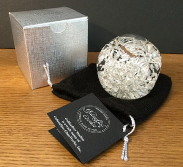 Snowdome with .999 Silver leaf, regular