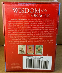 Wisdom of the Oracle Tarot Card Deck