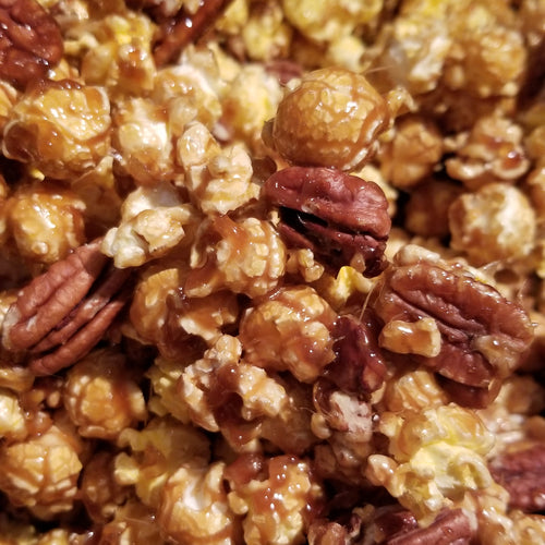 Caramel Corn with Pecans