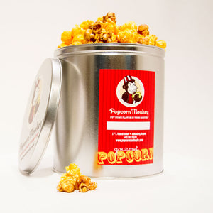 Popcorn Monkey 3.5 gallon pre-selected tin flavors