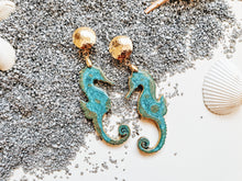 Magical Horse Azul Earrings