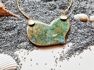 Valeria Aqua Necklace