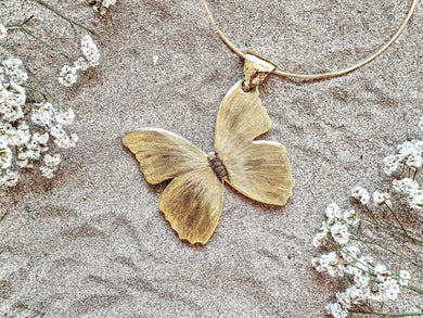 Mariposa Luz Gold Necklace