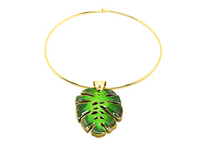 Hanzel Green Necklace