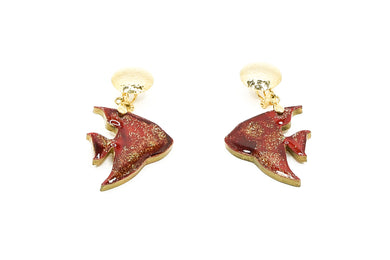 Aretes Pez Rojo - Sweet Water / Small