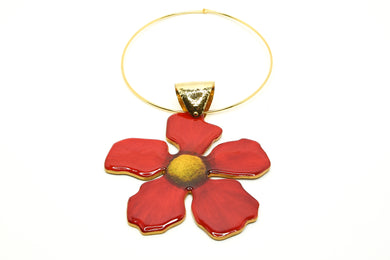 Angelina Red Necklace
