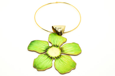 Kiwi Green Necklace