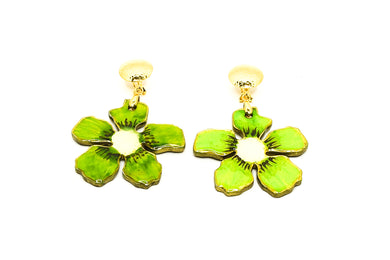 Aretes Kiwi - Passion Fruit / Large