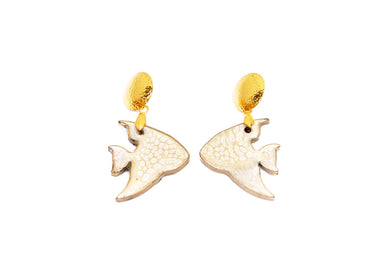 Aretes Pez Nude - Sweet Water / Small