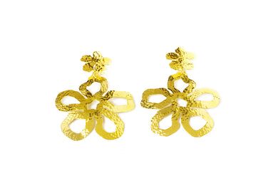 Aretes Flor Gold - Just One