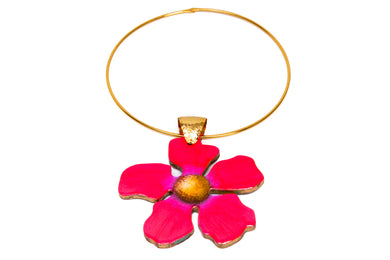 Angelina Fuscia Necklace