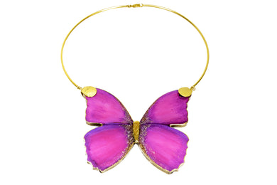 Sara Luz Fuchsia Necklace