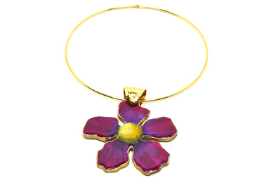 Angelina Purple Necklace