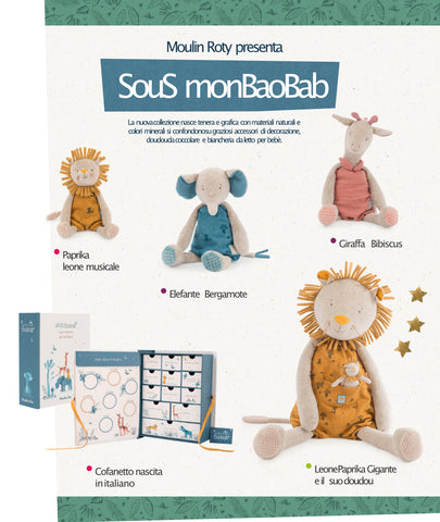 Sous mon Baobab - Collezione Moulin Roty Natale
