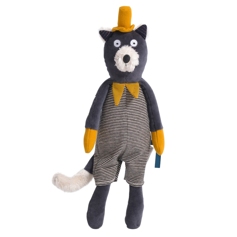 pupazzo gatto alfonso moulin roty 39cm les moustaches