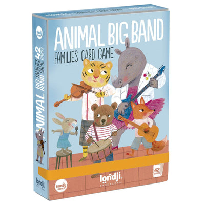 Gioco da Tavolo, Animal Big Band Londji, 3 Anni + | 42 Carte