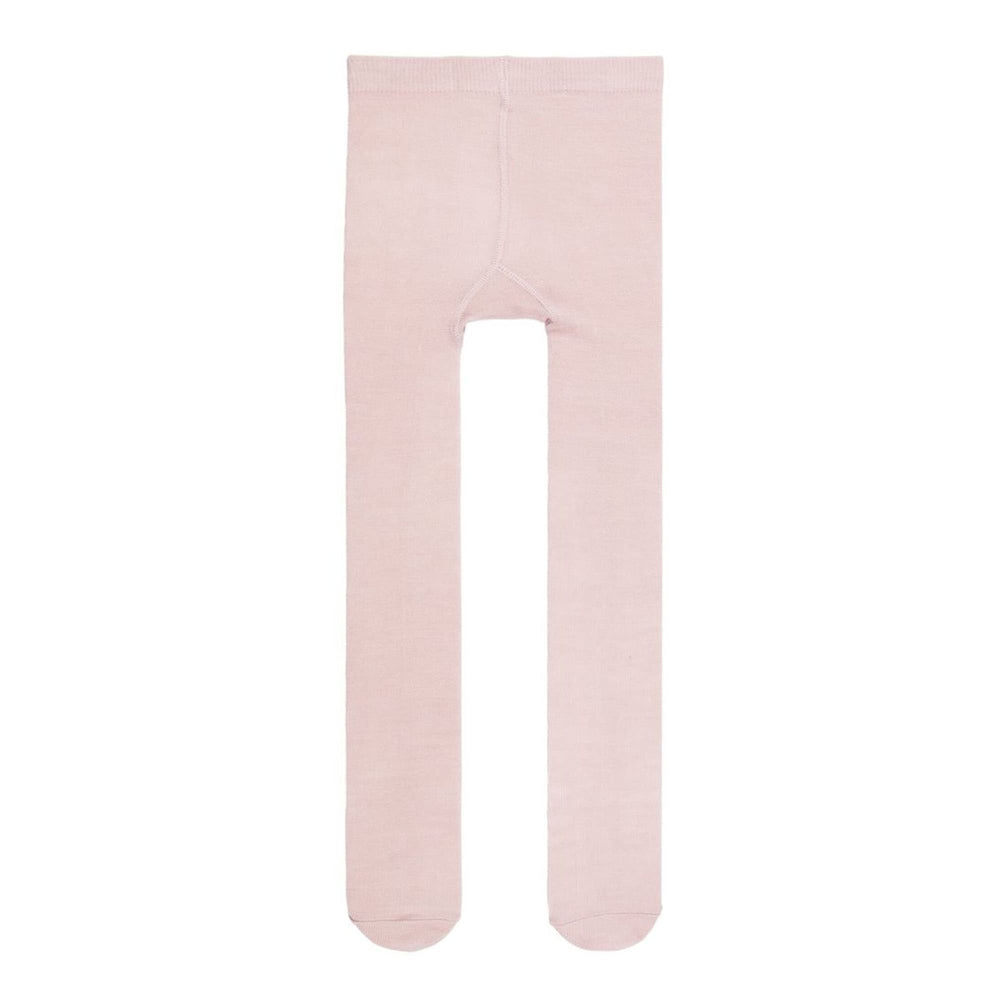 Calzamaglia Collant in Misto Lana Merino Cotone Rosa Bambina | Name It