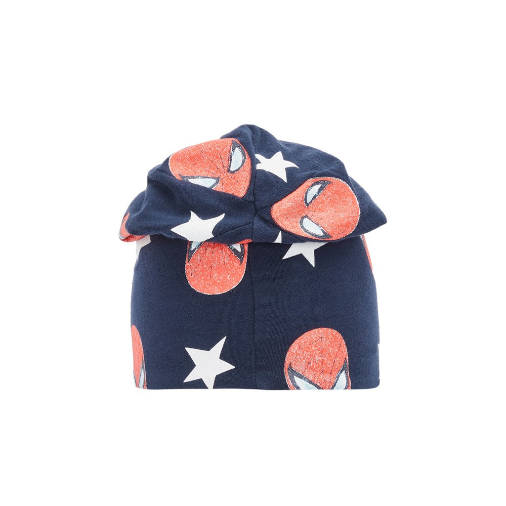 Cappello in Cotone Bio Spiderman Blu