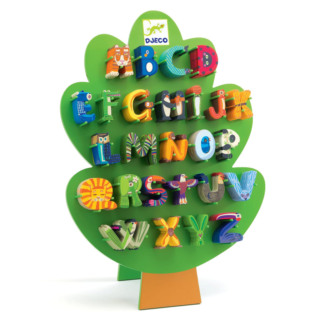 Lettere in Legno per Cameretta, A-Z, Djeco | My little Big Room