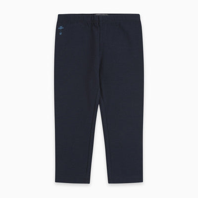 Leggings Bimba Cotone Blu Scuro | Basic | Canada House