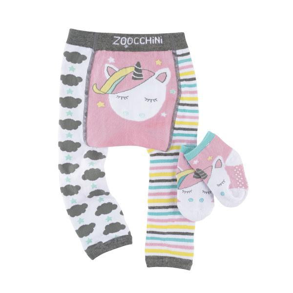 Set Leggings e Calzini Antiscivolo - Allie l'Unicorno