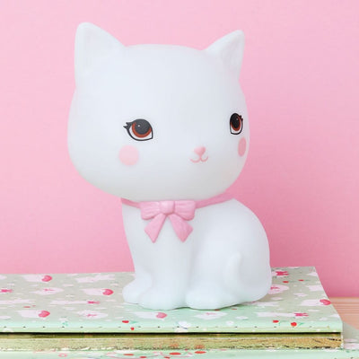 Luce Piccola LED - Gattino Bianco | Kitty - A little Lovely Company