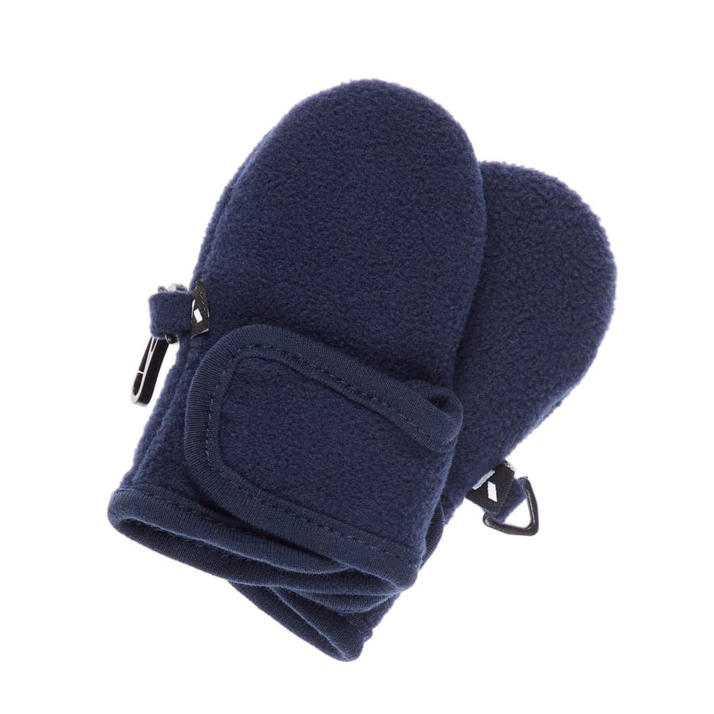 Muffole / Guanti in Pile Blu con Velcro Bimbo | Name It